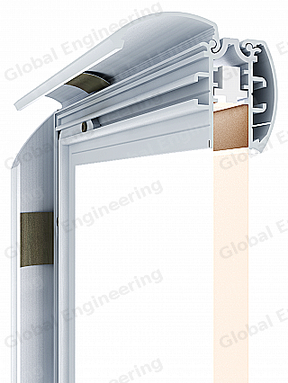 PanelLED 30 EL - panel with LED illuminationGlobal Engineering