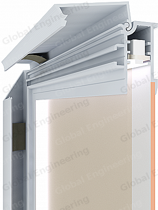 PanelLED 30 SQ - panel with LED illuminationGlobal Engineering